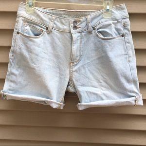 EUC Victoria's Secret hipster cut-off denim shorts